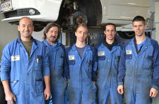 Das Team von Kfz-Podgornik